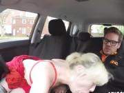 Blondie Misha Mayfair Uses Driving Instructors Cock