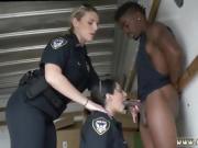 Big tit milf sex teacher Black suspect taken on a harsh ride