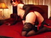 Devilish redhead LittleRedBunny waiting you in FREE CHAT
