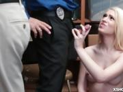 Joseline Kelly blowjob the LP Officers cock
