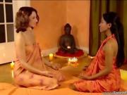 a hot sensual lesbian massage