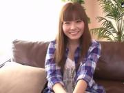 Anri Sonozaki amateur Asian plays with dildo on cam