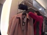 Exceptional czech teen gets teased in the mall and poked in p