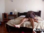 Interracial fucking with Amanda Agogo