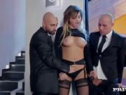 Perky Tit Anna Polina Gets Some Rough DP...