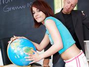 Naughty Student Dahlia DeNyle Gets Taught A Lesson