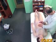 Big ass brunette fucked doggystyle and missionary till jizz