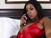 Ebony juggs up interracial