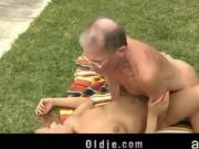 Big dick old mister drilling nikkys ass puss