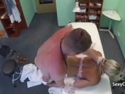 Tattooed hotty fucks in hospital