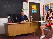Screaming Hot Cheerleader Cody Lane is a Naughty Schoolgirl