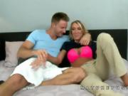 Brynn Hunter blonde milf seduced by dude