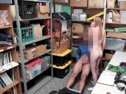 Cock riding shoplyfter Ava Parker works her pussy out