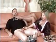 german hanging tits