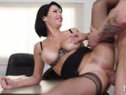 Busty Milf Seduces Her Employee