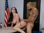 Hot Teacher Angela White Gets Drilled By Students Dad