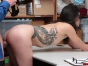 Brunette Eden Sinclair shoplifts and got fucked
