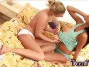 Lesbian pussy squirt Gaby and Megan slurping each other
