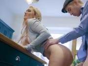 Cougar Amber Jayne Experiences Huge Cock Of Son In Law