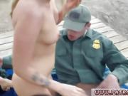 Cop fucks prisoner and guy female Amateur Threesome for Borde