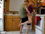 Stepson takes wife from behind - Watch Part2 on 02cam. com