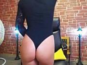 Gymnast Slut Dancing Around....