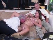 Black gf doggystyle Ivy impresses with her big boobies and as