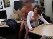 Hot secretary is fucked in her office after hours