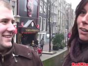 Dutch prostitute welcomes tourist with spread legs