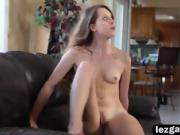 Dyked Mercedes and Zoey enjoy sucking pussy