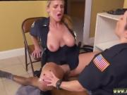Milf herself Black Male squatting in home gets our mummy offi