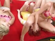Tasty College Chicks Engage In Cooze Nibble And Dildo Bang Pa
