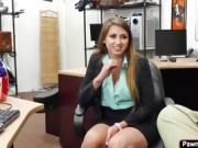 Ivy Rose getting fucked in the pawnshop
