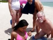 Old arab couple Staycation with a Latin Hottie
