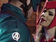 Captain America bangs gorgeous Scarlet Bitch Jillian Janson