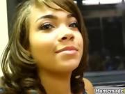Ebony Babe Ivy Sitting On Lesbian Cassidy Face
