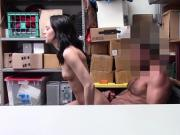 Amateur Kylie Martin hot fuck with the LP officer