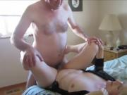 Horny older couple having vaginal sex_720p