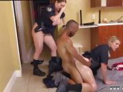 Fucking my black knight Black Male squatting in home gets our