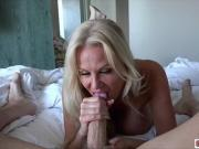 Busty Kelly Madison playing huge cock