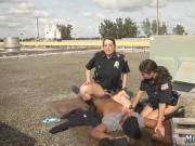 Fake cop public Break-In Attempt Suspect has to