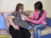 OldNannY Amateur Lesbian Grandmas nice Compilation