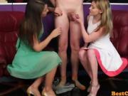 flesh rod tasting twin females