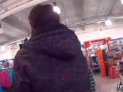 Luscious czech chick was seduced in the mall and shagged in p