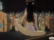 Caught hentai ceremony ritual sex
