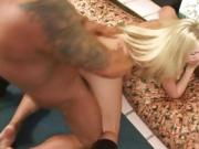 Blonde Skanky Teen Knows She Wants To Cream