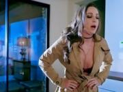 Hot Vixen Abigail Mac Blows Hung Investigator