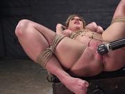 Huge tits Milf slave anal fucked bdsm