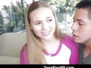 Hot Blonde Teen Tiffany Kohl Creampie From Stranger For Cash