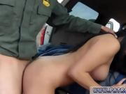 Fake taxi blonde police woman and raid ends in rough sex firs